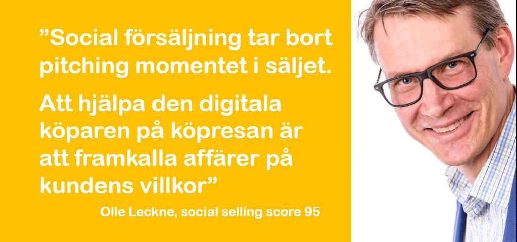 Social selling – vad är det egentligen?