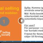 Social selling använd mobilen