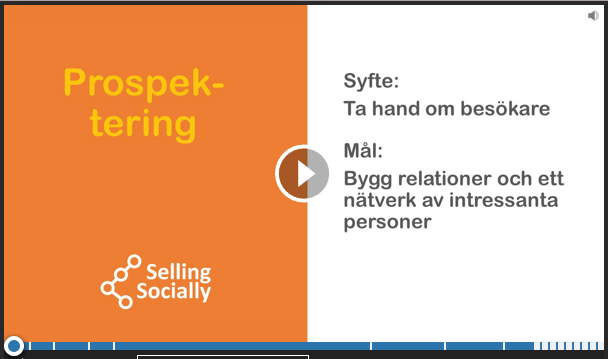 Social selling Prospektering
