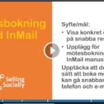 Social selling mötesbokning med InMail