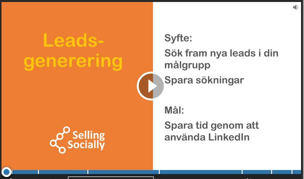Social selling Leadsgenerering